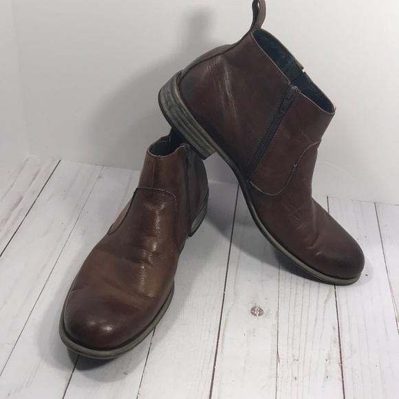 5a931b33e66 Steve Madden men's zip up boot